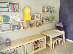 Image result for trofast with desk children's room