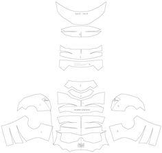 dali-lomo: Ant-Man Helmet DIY - Cardboard (free template)