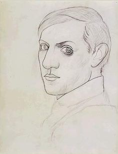 Famous for pioneering Cubism in the early Pablo Picasso was one of the most innovative and prolific artists of the century. Picasso was a master across disciplines and one o. Pablo Picasso, Kunst Picasso, Art Picasso, Picasso Drawing, Fine Art Drawing, Line Drawing, Georges Braque, Picasso Self Portrait, Colors