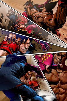 Video Game Art, Video Games, Tekken 1, Comic Books Art, Comic Art, Jin Kazama, Player One, Ever And Ever, Marvel