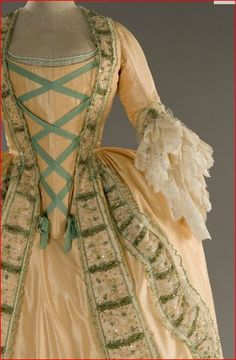 Marie Antoinette Fashion.. my dream to experience someone tying the corset before I put on one of these dresses.