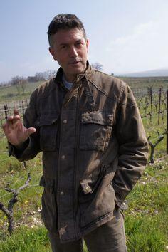 In the vineyard & cellar with Paul Vendran of La Ferme St Pierre in Cote de Ventoux