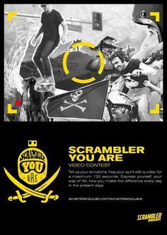 """Ducati lancia il video contest internazionale """"Scrambler You Are"""""""