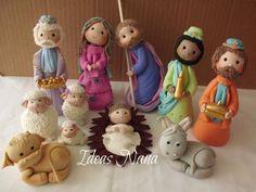 Pesebres Christmas Topper, Polymer Clay Christmas, Christmas Cupcakes, Christmas Nativity, Cozy Christmas, A Christmas Story, Christmas Crafts, Handmade Christmas, Christmas Ornaments