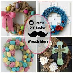 creative-diy-easter-wreath-ideas 4