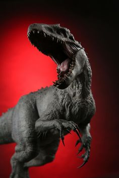 Indominus Rex by Chronicle Collectibles, revealed at SDCC 2017 Blue Jurassic World, Jurassic World Dinosaurs, Jurassic World Fallen Kingdom, Jurassic World Indominus Rex, Jurrassic Park, Park Art, Jurassic Park Poster, Jurassic Movies, Dinosaur Wallpaper