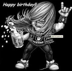 Happy Birthday! Rock!