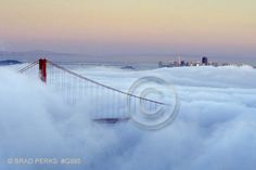 I'll never forget being at the top of the BOA building when the fog rolled in over the Golden Gate Bridge. Breathtaking.