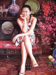 Китайский художник Guan Zeju. Картина двенадцатая