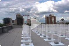 Steve Heimbecker, Wind Array Cascade Machine, 2003
