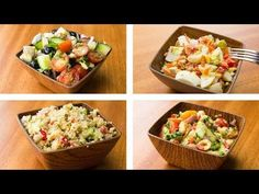 4 Healthy Salad Recipes For Weight Loss Easy Salad Recipes. 30 Best Low Calorie Foods To Lose Weight According To . Healthy Low Calorie Meals, Healthy Pasta Recipes, Healthy Pastas, Easy Salads, Healthy Salad Recipes, Easy Dinner Recipes, Healthy Snacks, Paleo Dinner, Healthy Cooking