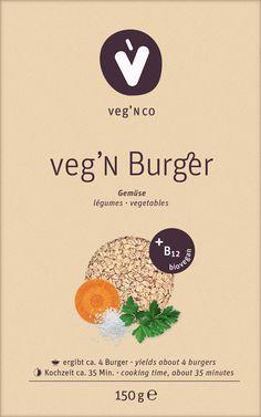 Biovegane Burger mit Gentechnik-freiem, naturbelassenem Vitamin B12 Vitamin B12, Fast Food, Burger, Cooking Time, Vegetables, Microorganisms, Low Fiber Foods, Lunch Bags, Delicious Snacks