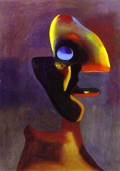 Head of a Man - Joan Miro 1935