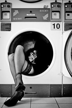 Black & White Photography Inspiration : Ooohso tough when you wake up the morning after in a laundry mat dryer But.so tough when you wake up the morning after in a laundry mat dryer. Vintage Photography, Amazing Photography, Portrait Photography, Fashion Photography, Photography Magazine, Morning Photography, Pinterest Photography, Photography Tips, Black N White