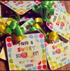 End of School Year Classmate Gifts - Design Dazzle