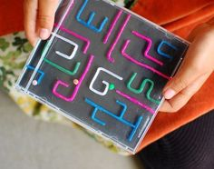 Upcycle This! 8 Ways to Reuse Those Old CD Cases - cd case labyrinth