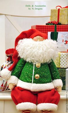 Купить Санта Клаус - санта клаус, санта, санта-клаус, санта тильда
