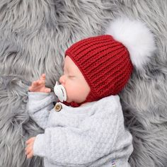 Gry Babyhue Opskrifter Winter Hats, Crochet Hats, Threading, Knitting Hats