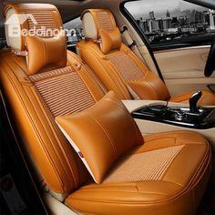 Bolange Car Long Rear Seat Chair Cover Cushion Silk Velvet Mat protecor pad Universal for cars trucks Pink