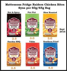 Mattessons fridge raiders roast chicken flavour bites 60g Slimming world syns online