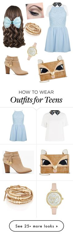"""""""Princesses- Modern day Belle"""" by poppianist on Polyvore featuring Sportmax, New Look, White House Black Market, Mehron, Betsey Johnson, Chan Luu and modern"""