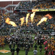 Baylor football game