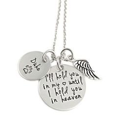 Hold You In My Heart Pet Necklace