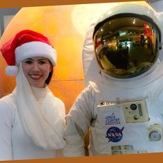 Merry Christmas from Emirates and the Moon Man!  #NASA #spacecenter #ek #cabincrew #crewlife #cabincrew #emirates #uae #dubai #fly #outerspace