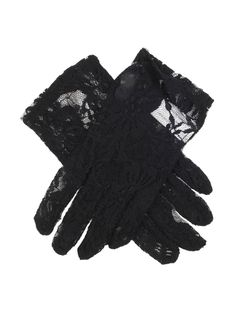 Black Women's short stretch lace gloves, perfect for understated glamour. Composition: Nylon, Elastane Lining: Unlined Button Length: ½ B/L – These gloves sit below the wrist. Lace Gloves, Leather Gloves, Small Leather Goods, Occasion Wear, Leather Fabric, Stretch Lace, Fashion Accessories, Delicate, Glamour