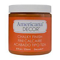 Vopsea decorativa Americana Decor Chalky Finish, 236ml, Heritage, DecoArt