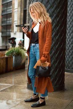 A tendência oversized alia conforto com muito estilo.