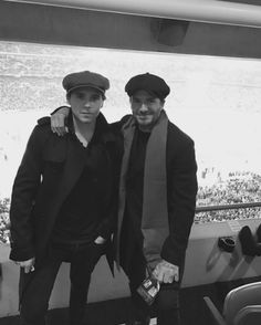 Brooklyn e David Beckham (Foto: Reprodução/Instagram)