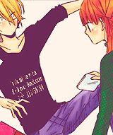 lalala tonari no kaibutsu kun tnk Mizutani Shizuku Yamaguchi Kenji yamaken este sera el ultimo coloreado manga que haga por un buen tiempo xD mizutani al fin termine el manga *-*... el anime me lo dejo en la mejor parte u.u