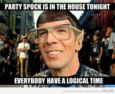 Party Spock!