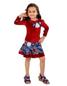 Rang Fashions two piece Western Short Dress