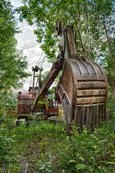 The abandoned excavator #2 by diavanco