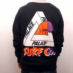 Palace Surf Co Crew Black