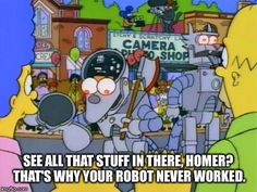It's not easy to build a robot!