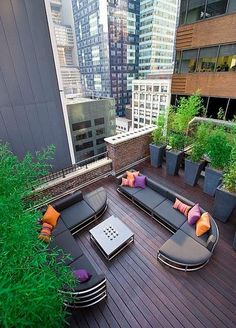 city urban terrace