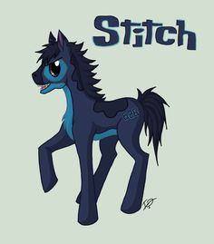My Little Stitch Pony by *issabissabel on deviantART