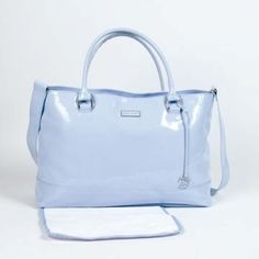 CHANGING BAG PATENT LEATHER (with PAD)