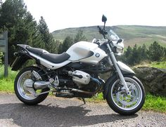 BMW R1150R. One of the coolest bikes I've ever ridden.