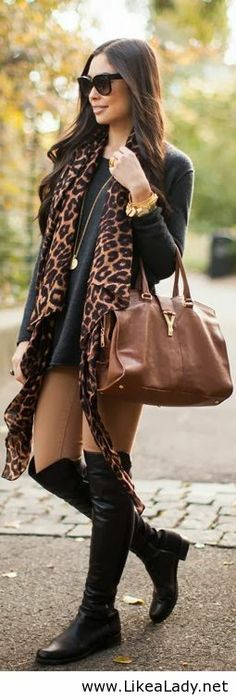 Lovely in leopard
