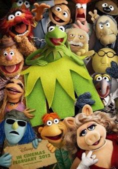 Muppets Poster 24x36 #01
