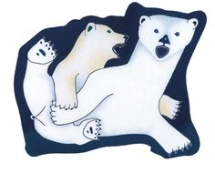 Out from the Den, by Kananginak Pootoogook (Inuit artist), Cape Dorset, 2005