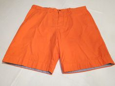 Men's Tommy Hilfiger 40 Custom shorts 647 Hot Coral 7857273 walk casual TH #TommyHilfiger #shorts