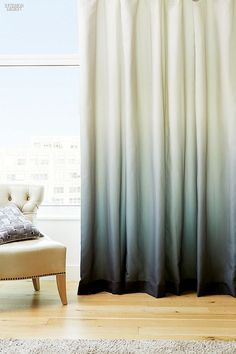 9 Stunning Simple Ideas: Curtains Behind Bed Wall Of curtains wall tips.Bedroom Curtains Behind Bed blue curtains kitchen.Bedroom Curtains Behind Bed. Ombre Curtains, Curtains With Blinds, Drapes Curtains, Dip Dye Curtains, Window Drapes, French Curtains, Luxury Curtains, Yellow Curtains, Vintage Curtains
