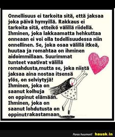 Sad Words, Words Quotes, Cool Words, Sayings, Finnish Words, Powerful Words, Note To Self, Favorite Quotes, Positive Quotes