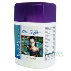 Marine Collagen™    Ένα βασικό δομικό στοιχείο του ανθρώπινου σώματος, το κολλαγόνο χρησιμοποιείται στη δημιουργία και την υποστήριξη των οστών, των χόνδρων, των συνδέσμων, των τενόντων και άλλων βασικών σημείων του σώματ...