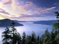 Lake Pend Orielle in Northern Idaho